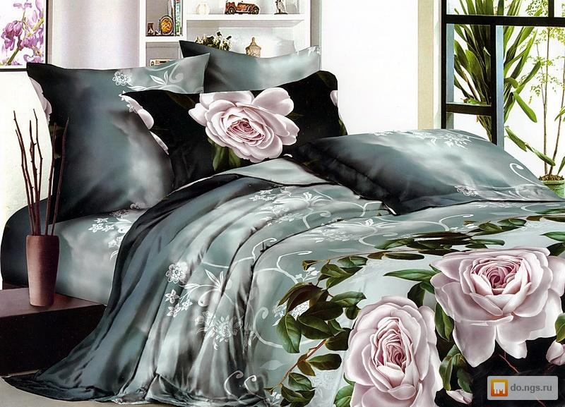 постельное белье шикарное фото