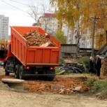 Устали от луж и грязи во дворе? Доставка щебня, гравия, песка, Новосибирск