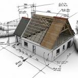 Профессиональное проектирование коттеджей под ключ! Акция 60%, Новосибирск