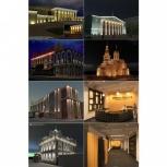 светодизайнер, архитектурное, ландшафтное освещение, Новосибирск