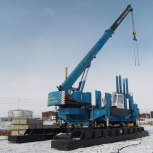 Сваевдавливающие установки, Новосибирск