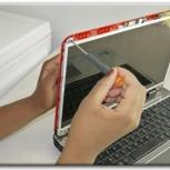 Оперативная замена дисплеев (матриц) ноутбуков! Гарантия, Новосибирск