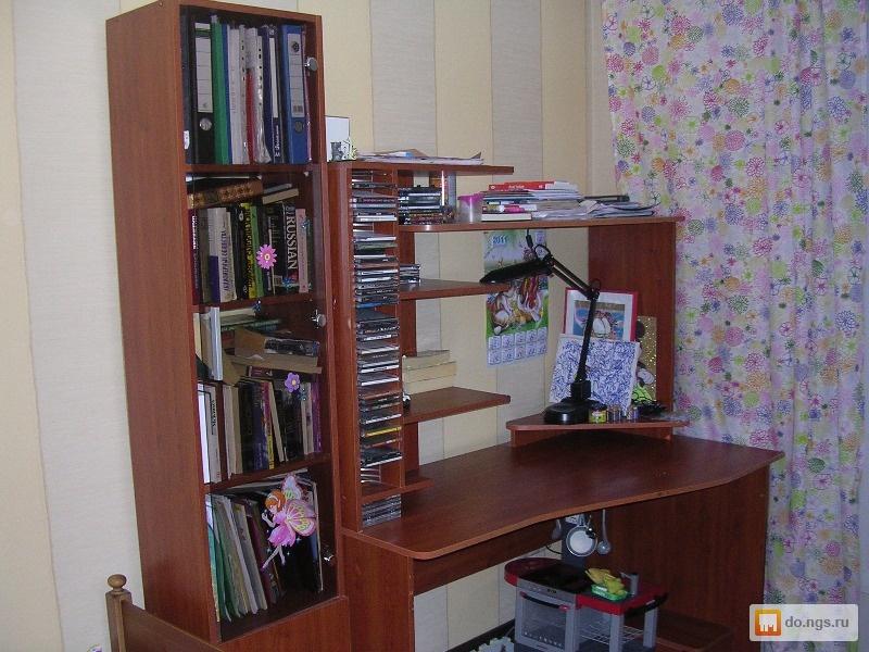 Продам компьютерный стол , фото. цена - договорная., новосиб.