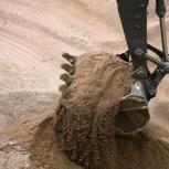 Песок карьерный строительный с доставкой без выходных!, Новосибирск