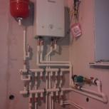 Профессиональный монтаж отопления в частных домах, Новосибирск