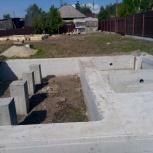 Все виды бетонных работ, плотники-бетонщики: фундаменты, ростверки, Новосибирск