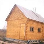 Баня из бруса, дом, Новосибирск