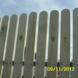 Изготовление заборов и ворот из дерева, Новосибирск