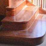 Деревянные лестницы для дома и дачи, Новосибирск