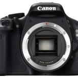 Продам зеркальный фотоаппарат Canon 600D body, Новосибирск